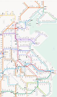 高鉄路線図の一部。この路線の全部が高速鉄道.PNG